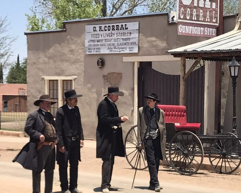 The O.K. Corral Enactment