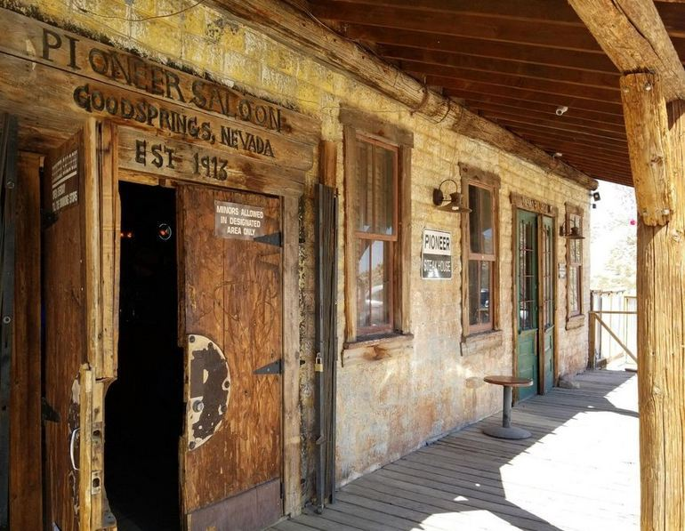 Pioneer Saloon Entrance