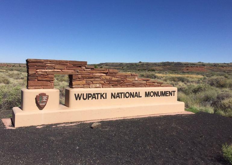 Wupatki National Monument Entrance