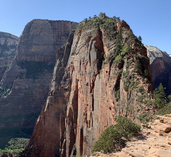 Angels Landing Trail Last Half Mile