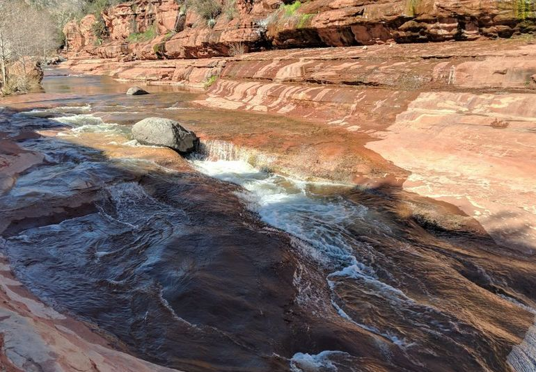 Red Rock Water Slide