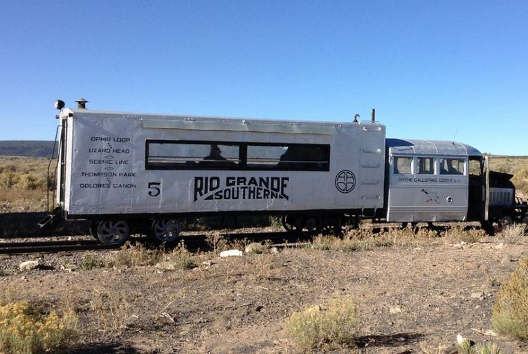 Rio Grande Passenger Car