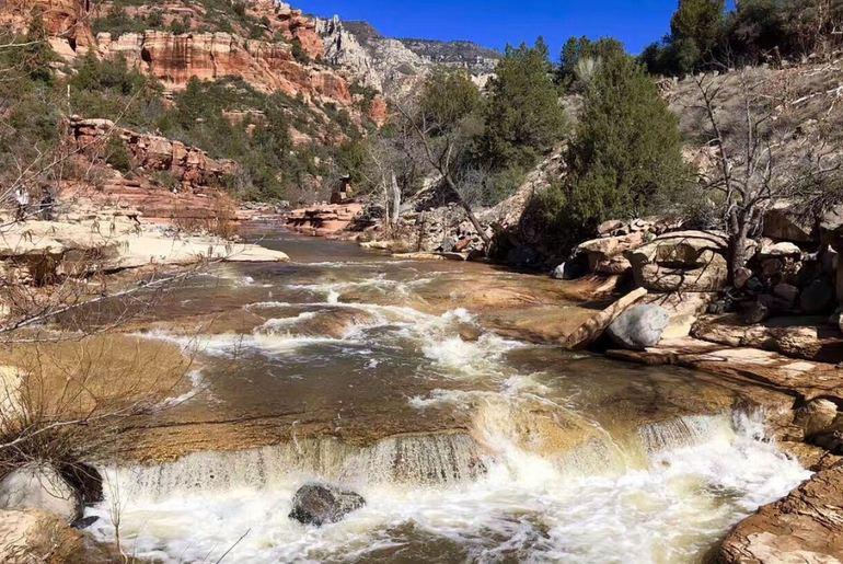 Slide Rock State Park Arizona Day Trip
