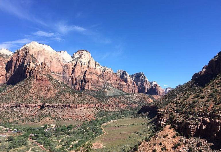 View from Watchman Trail Zion