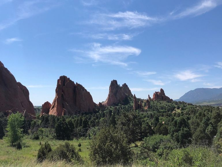 Garden of the Gods Colorado Day Trip