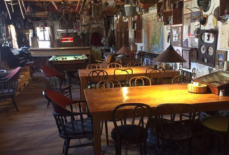 Inside the Saloon