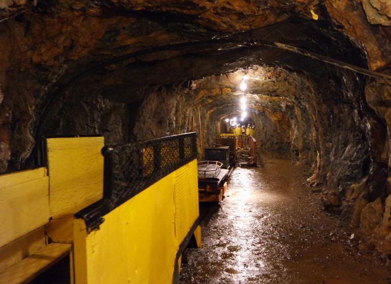 Old Hundred Gold Mine Tour