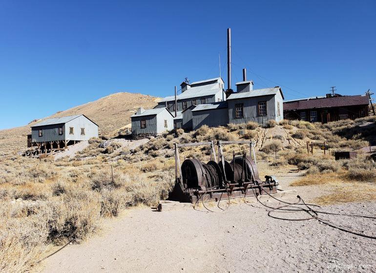 Bodie Ghost Town Mine