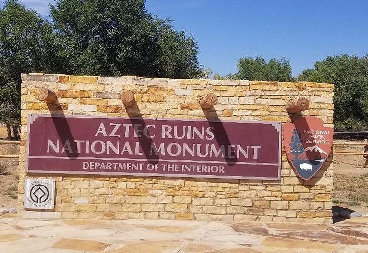 Aztec Ruins Entrance