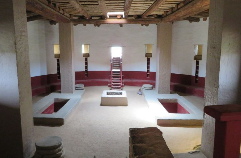 Reconstructed Great Kiva