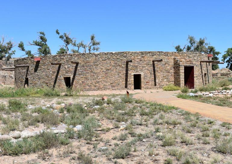 Aztec Ruins National Monument kiva