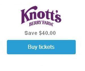 Knott's Tickets