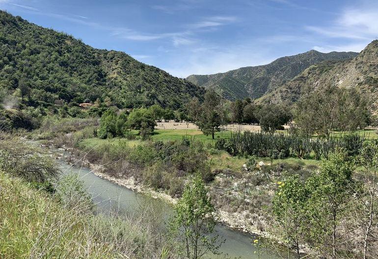 Lower San San Gabriel Canyon