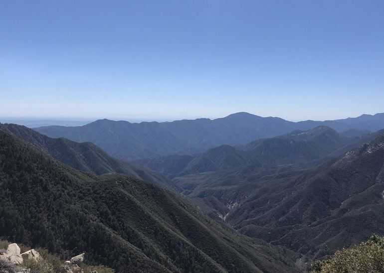 San Gabriel Canyon California