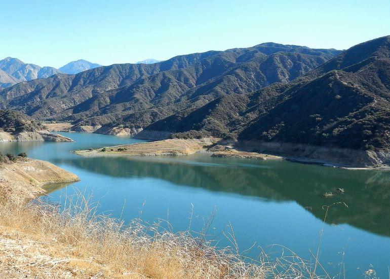 San Gabriel Dam Reservoir