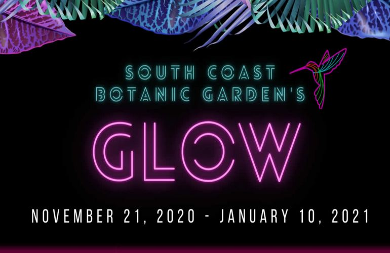 South Coast Botanic Garden Glow Event