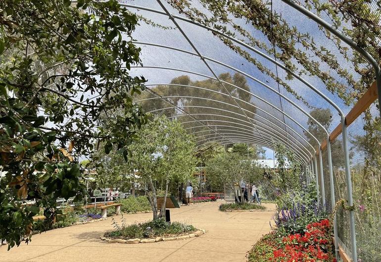 Butterfly Farm Encinitas, California.
