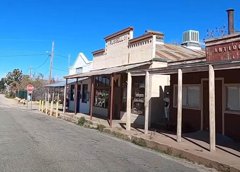 Chloride Ghost Town Arizona