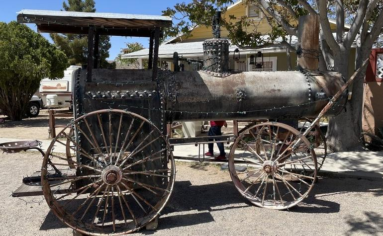 Old Steam Powered Tractor